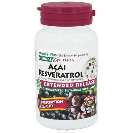 EXTENDED RELEASE ACAI RESVERATROL