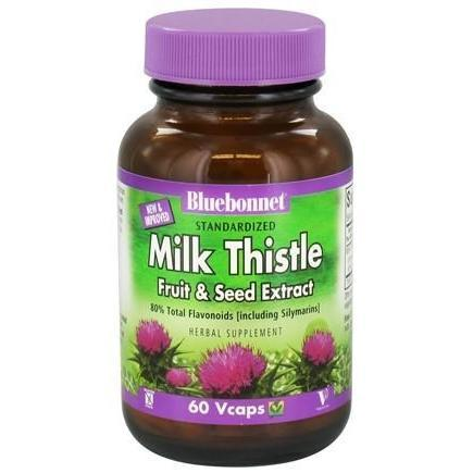 MILK THISTLE EXTRACT 60 VEGETABLE CAPSULES