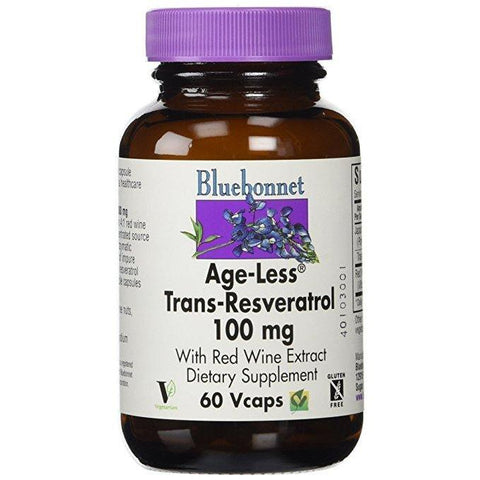 AGE-LESS TRANS-RESVERATROL 100 MG 60 VEGETABLES CAPSULES