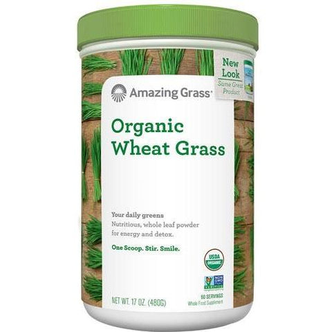 2 MONTH SUPPLY ORGANIC WHEAT GRASS POWDE
