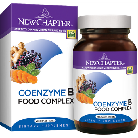 COENZYME B FOOD COMPLEX 60 VEGETARIAN TABLETS