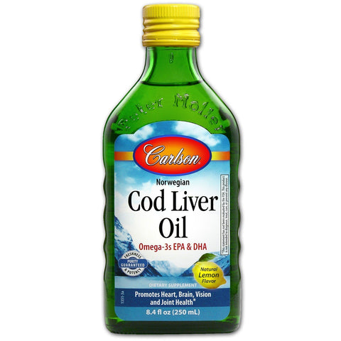NORWEIGEN COD LIVER OIL LIQUID LEMON FLA