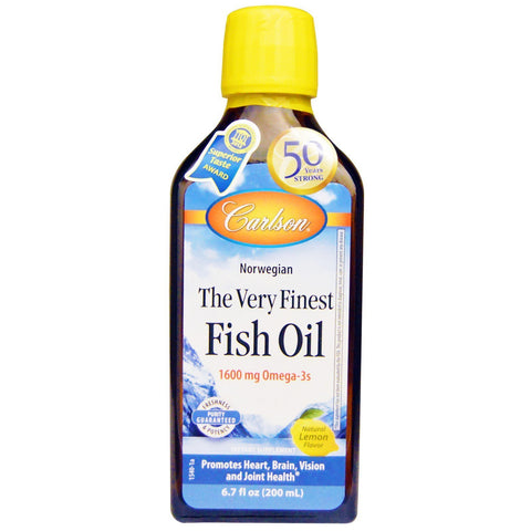 THE VERY FINEST FISH OIL 200 ML