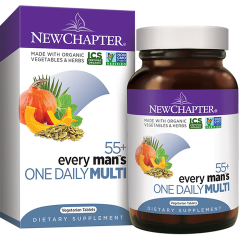EVERY MAN'S ONE DAILY  55+ 48 VEGETARIAN CAPSULES