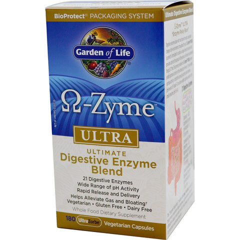 OMEGA-ZYME ULTRA 180 CNT 180 CAPSULES