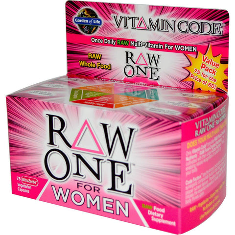 VC - RAW ONE FOR WOMEN 75 CAPSULE