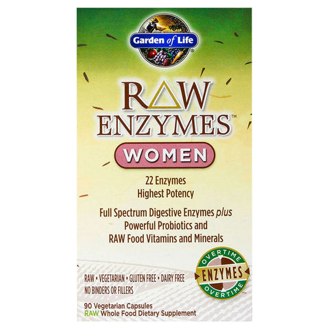 RAW ENZYMES WOMEN 90 CAPSULES