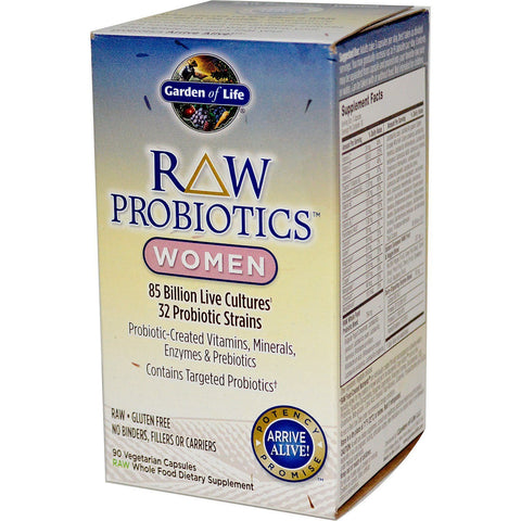 RAW PROBIOTICS WOMEN 90 CAPSULES