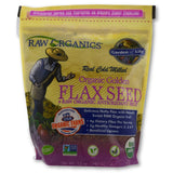 CERTIFIED ORGANIC GOLDEN FLAXSEEDS 12OZ