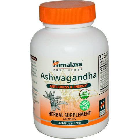 ASHWAGANDHA ANTI STRESS & ENERGY 60 CAPS
