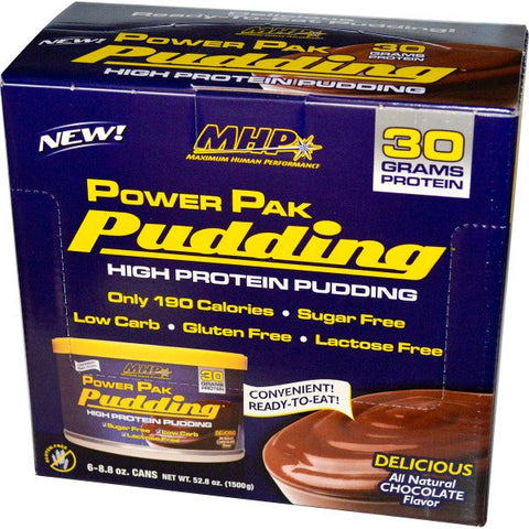 POWER PACK PUDDING CHOCOLATE 8.8 OZ
