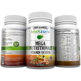 RAW MEGA NUTRITIONAL VITAMINS 120 CT