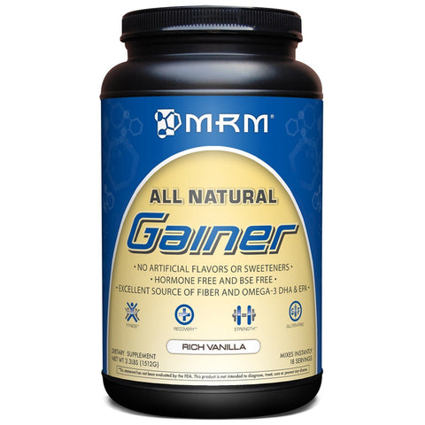 ALL NATURAL GAINER VANILLA