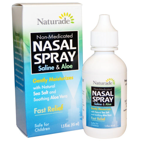SALINE & ALOE NASAL SPRAY 1.5 OZ