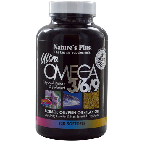 ULTRA OMEGA 3/ 6/ 9 1200 MG SOFTGELS