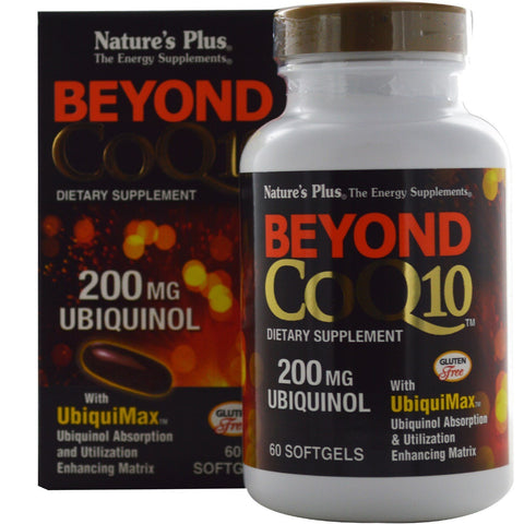 BEYOND COQ10 200MG UBIQUINOL SOFTGEL