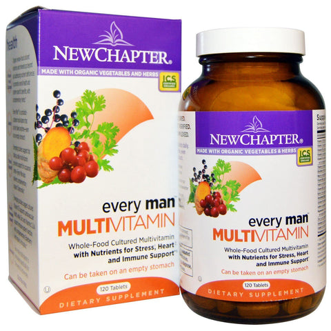 EVERY MAN MULTIVITAMIN 120 TABLETS