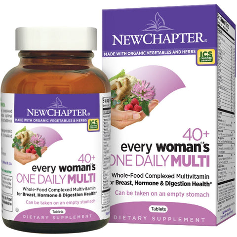 EVERY WOMAN'S ONE DAILY 40+ MULTIVITAMIN 48 TABLET