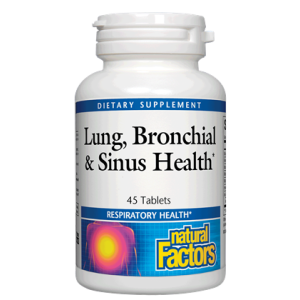 LUNG BRONCHIAL & SINUS HEALTH 45 TABLETS