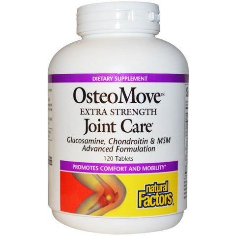 OSTEOMOVE JOINT CARE EXTRA STRENGTH 120 TABLETS