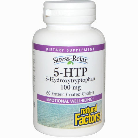 STRESS RELAX 5-HTP 100 MG 60 ENTERIC COATED CAPSULES