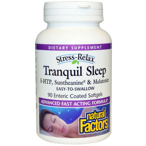 STRESS-RELAX TRANQUIL SLEEP 90 ENTERIC COATED SOFTGELS