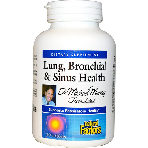 LUNG BRONCHIAL & SINUS HEALTH 90 TABLETS