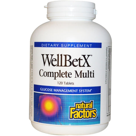 WELLBETX COMPLETE MULTI 120 TABLETS