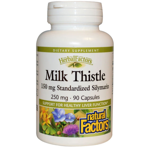 MILK THISTLE 250 MG 90 CAPSULES