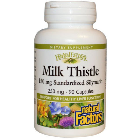 MILK THISTLE 250 MG 30 CAPSULES
