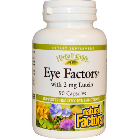 EYE FACTORS WITH 2 MG LUTEIN 90 CAPSULES