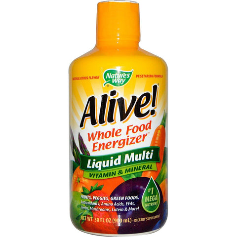 ALIVE! LIQUID MULTI 30 OZ