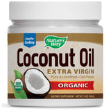 ORGANIC EXTRA VIRGIN COCONUT OIL 16 OZ