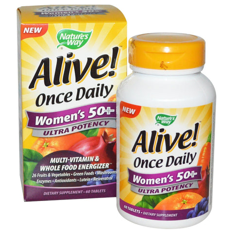 ALIVE! ONCE DAILY WOMENS 50+ [ULTRA POTE