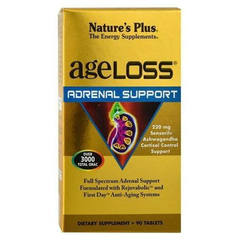 AGELOSS ADRENAL SUPPORT 90 TABS