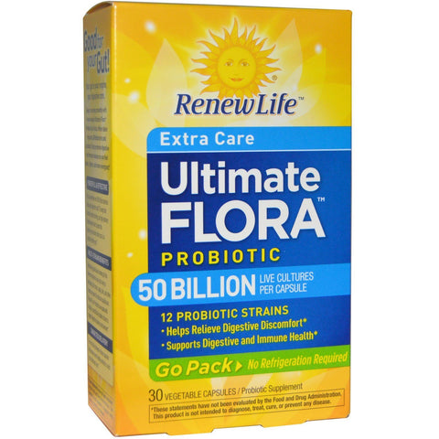 ULTIMATE FLORA EXTRA CARE GO PACK 50B 30