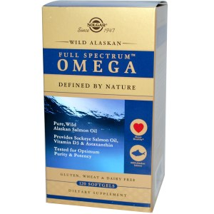 WILD ALASKAN FULL SPECTRUM OMEGA SOFTGEL