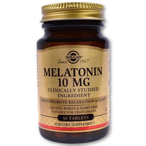 MELATONIN 10 MG TABLETS