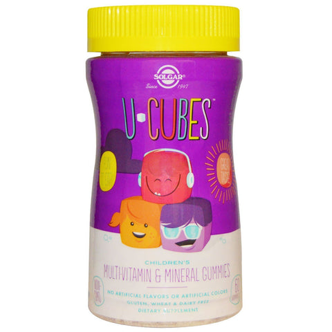 U-CUBE CHILDRENS MULTI-VITAMIN & 60