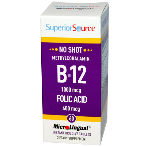 NO SHOT METHYLCOBALAMIN B 12 W/ FOLIC AC