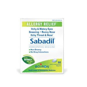SABADIL FOR ALLERGY 60 TB
