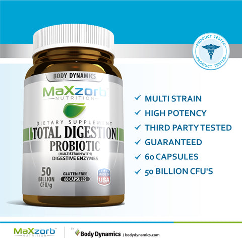 TOTAL DIGESTION PROBIOTIC 60 CT