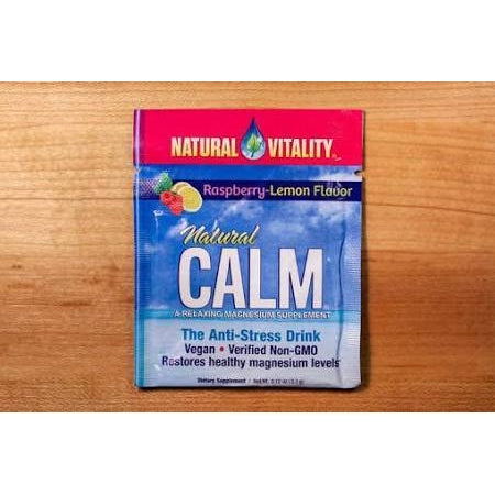 VITAMIN CALM PKT RSPBRY L 0.12 OZ