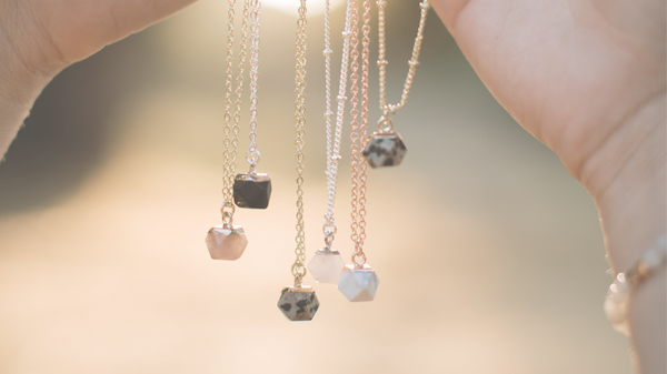 Beautiful You: a line of giftable gemstone necklaces to meet you where you are