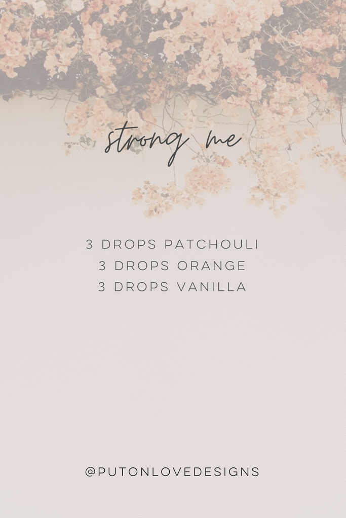 diffusing blend for strengh.