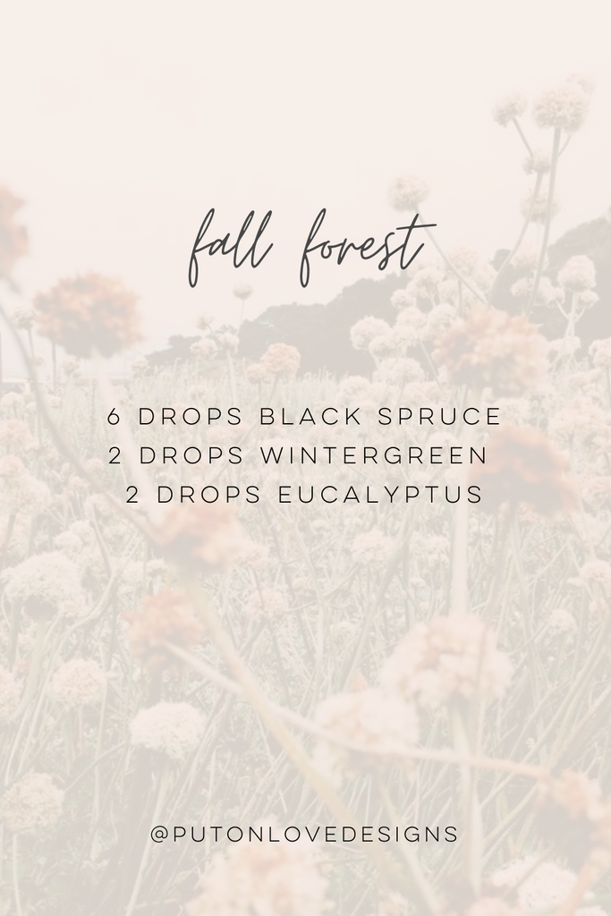 Fall Forest Essential Oil Diffusing Blend