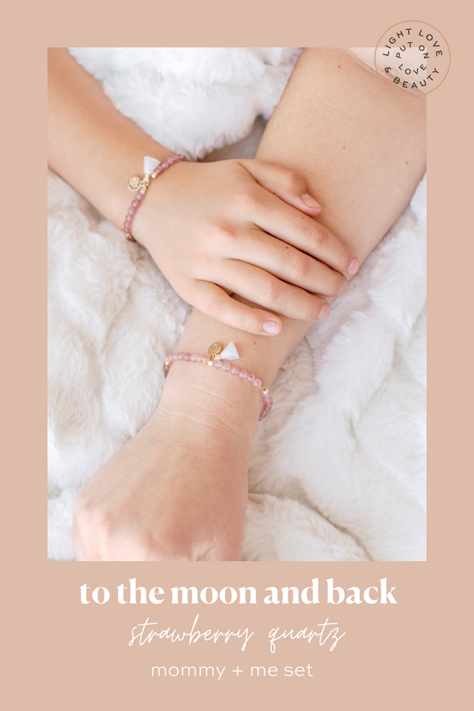 Mommy + Me essential oil diffusing bracelets