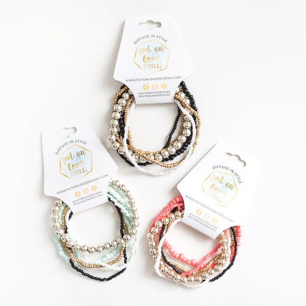 Stacking Beaded Bracelet Set