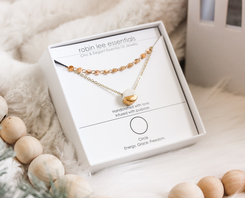 Full Circle Diffusing Necklace Collaboration