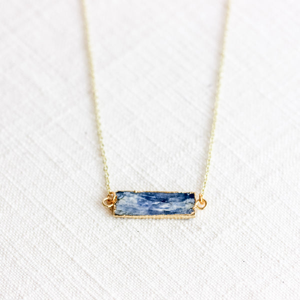 Kyanite Diffuser Necklace